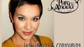 Highlighting & Contouring by Pure Anada Natural Cosmetics