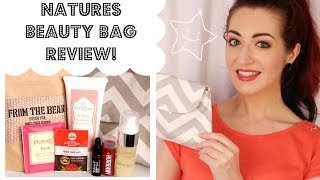 NATURES BEAUTY BAG REVIEW! March 2014 | Organic, Cruelty-Free Skincare